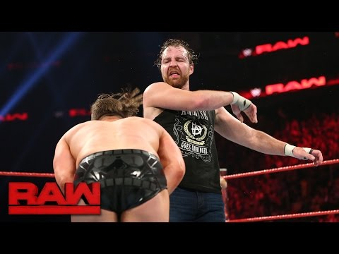 Dean Ambrose vs. The Miz - Intercontinental Championship Match: Raw, May 15, 2016