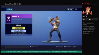 [FORTNITE] NEW phone it in emote lay down a saxy groove
