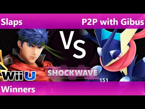 SW 151 - SWG | Slaps (Ike) vs P2P with Gibus (Greninja) Winners - Smash 4