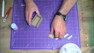 How To Make The Drawer Boxes For The Ladies Roll Top Desk