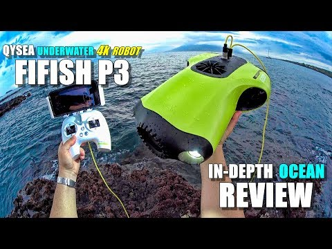QYSEA FIFISH P3 Underwater 4K Robot ROV Review - Part 3 - [In-Depth Ocean Test / Pros & Cons]