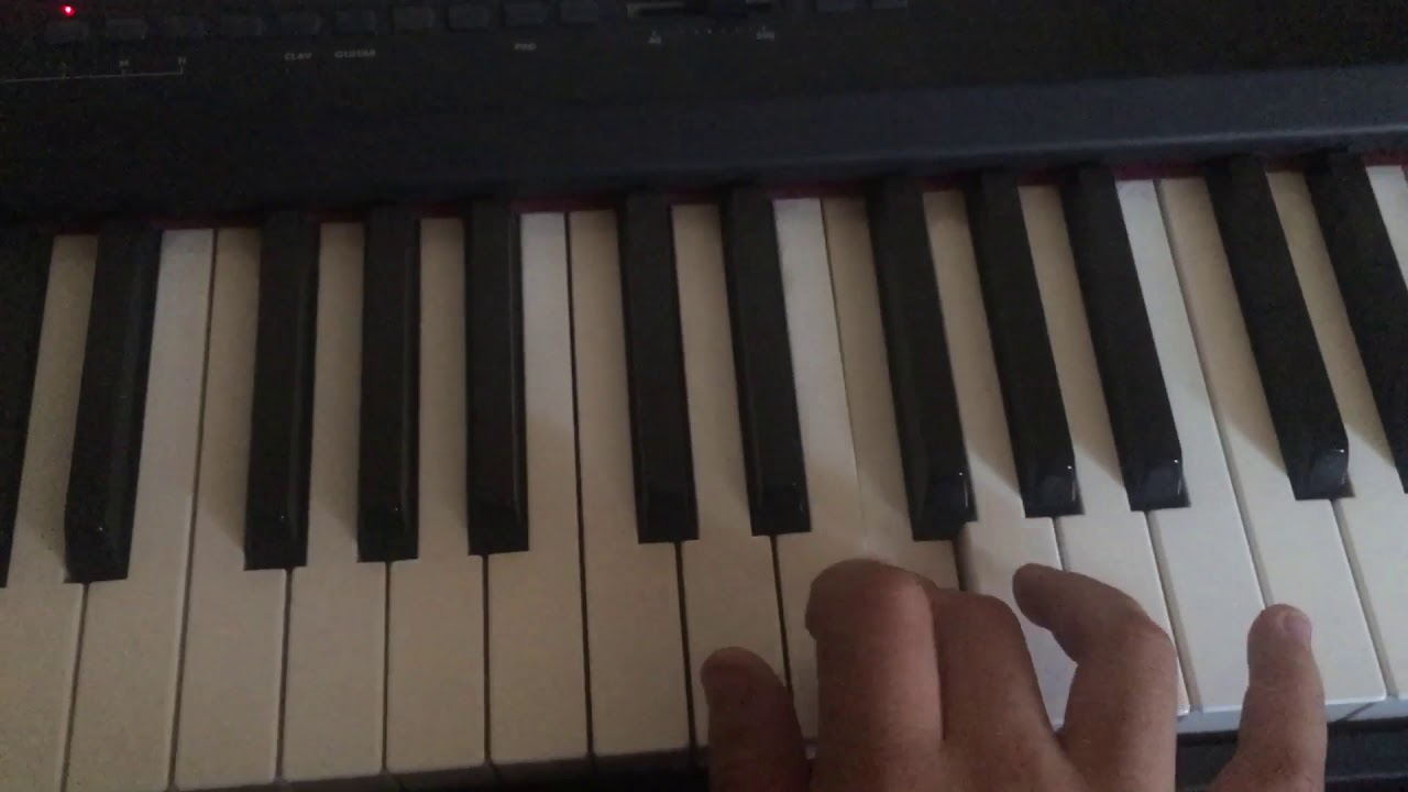 Giorno Theme Piano Part Tutorial Right Hand Youtube