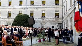 Inauguration plaque des enfants déportés au lycée Guez-de-Balzac (suite)
