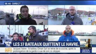 Transat Jacques Vabre : suivez notre édition spéciale sur BFMTV
