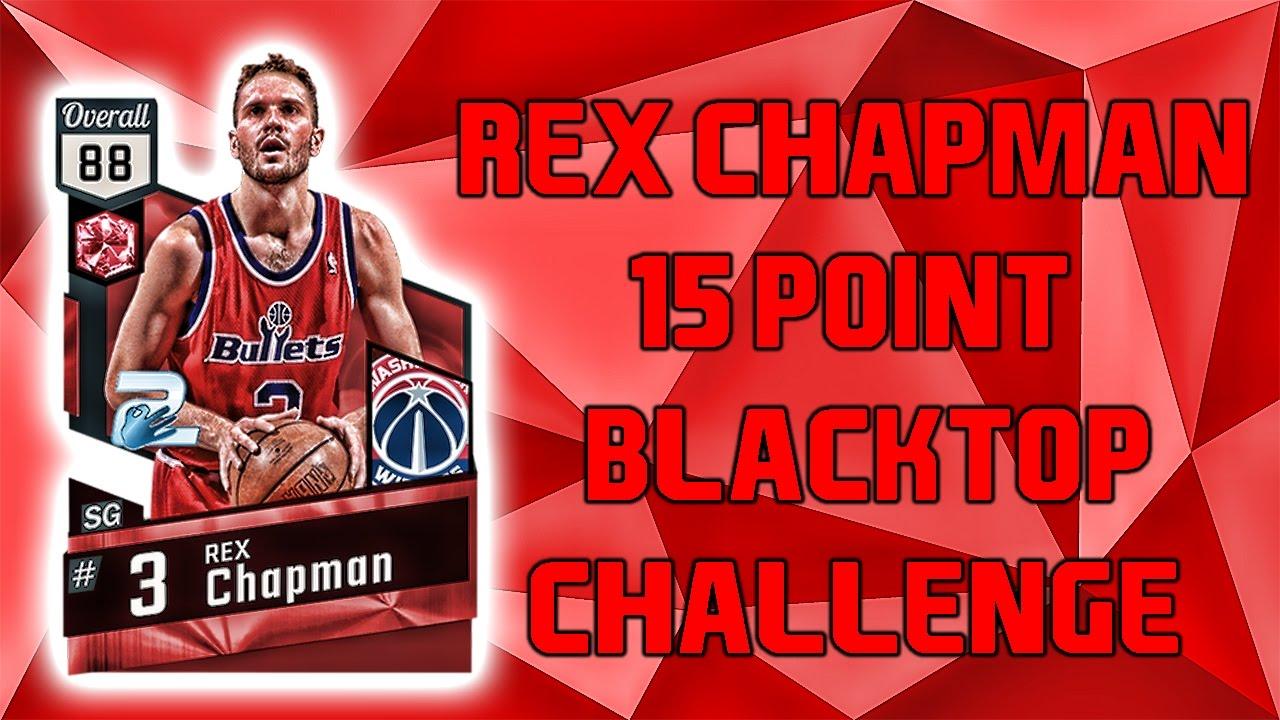 RUBY REX CHAPMAN 15 POINT CHALLENGE NBA 2K17 Blacktop Gameplay