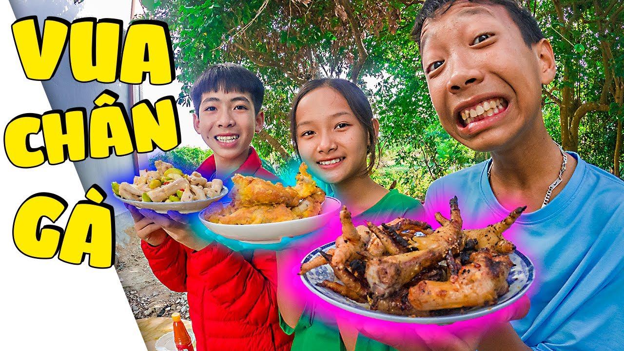 Thái Chuối | Đại Chiến Vua Đầu Bếp Trẻ Trâu – Tìm Vua Chân Gà