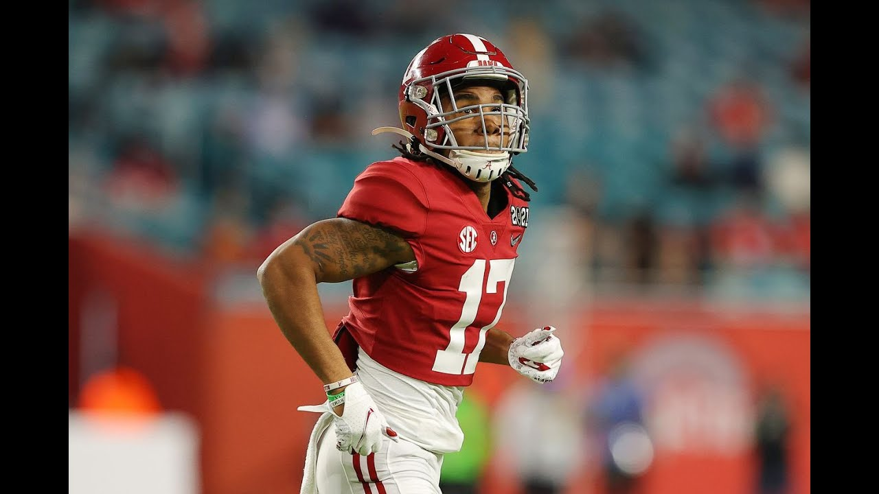NFL mock draft 2021 tracker: WR Jaylen Waddle, TE Kyle Pitts, QB ...