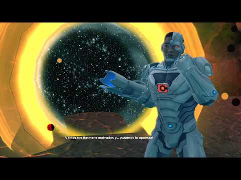 DCUO Into The Dark Multiverse Elite BARBATOS Last Boss |