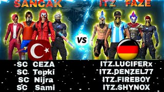 Free Fire CS Türkiye vs Almanya Turkey vs Germany