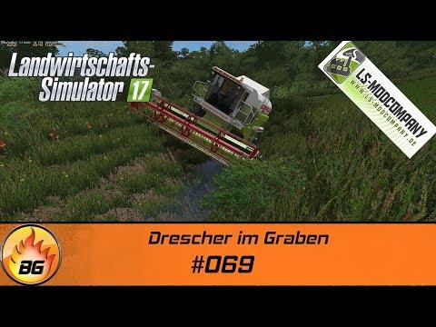 LS17 - Stappenbach #069   Drescher im Graben   Let's Play [HD]