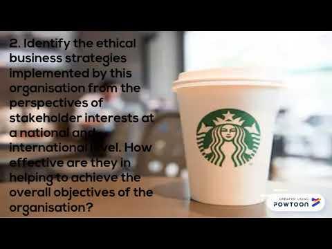 Ethics and Sustainability GROUP 8