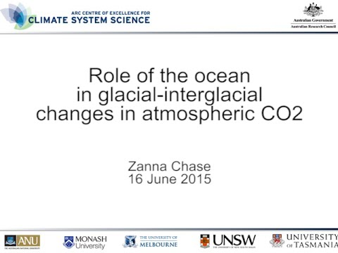 Role of the ocean in glacial-interglacial changes in atmospheric CO2 (Zanna Chase)