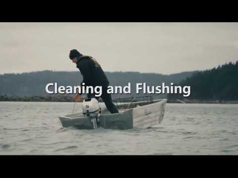 Honda Marine Portable Outboard Winterization: Cleaning and Flushing
