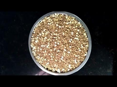 Wheat flour \ Chappathi flour (Atta) in Tamil with subtitles - கோதுமை மாவு