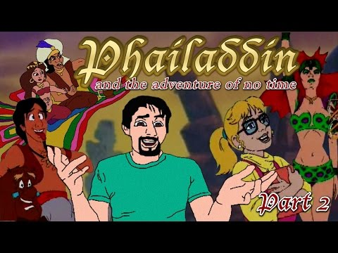 Aladdin and the Adventure of All Time Part 2 - Phelous