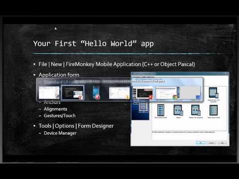 Mobile Summer School - Lesson 1 C++ - Hello World! My First Multi-Device App