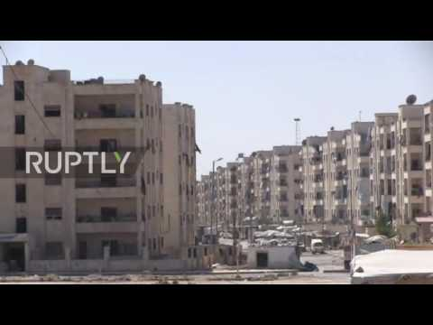 Syria: Buildings and infrastructure destroyed across besieged Aleppo