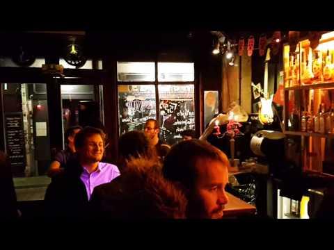 French music live small bar Batille. Paris