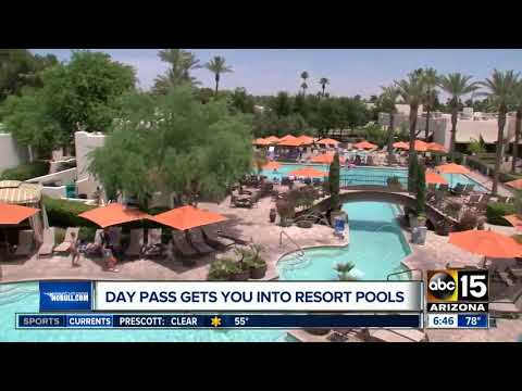 Buy a day pass to get into Arizona resort pools