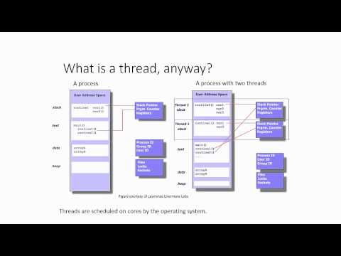 Intro parallel programming: Threads, processes and the OS