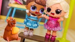Кто сорвал урок? Мультики для девочек – Новенькая ЛОЛ в классе. Игрушки куклы