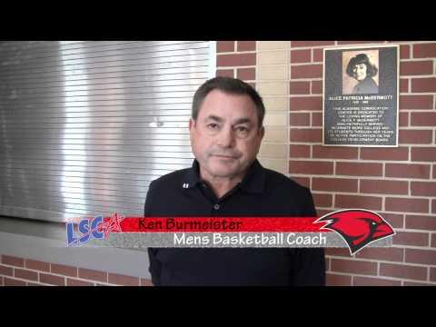 Ken Burmeister, Incarnate Word men's basketball for LSC Online Media Day