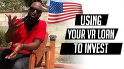 Using Your VA loan to Invest in real estate  -LewisHelpsSitdow-