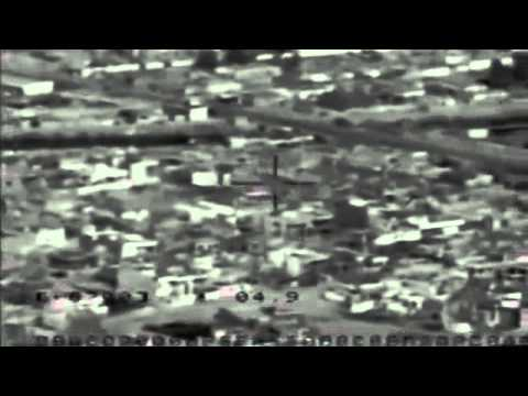 Predator Drone Missile Strike Cam