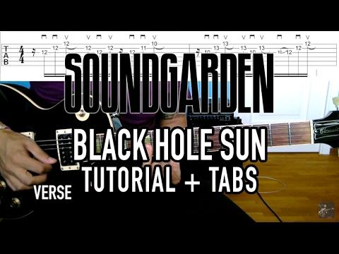 Black Hole Sun - Soundgarden (3 min. Tutorial + Tabs) - YouTube