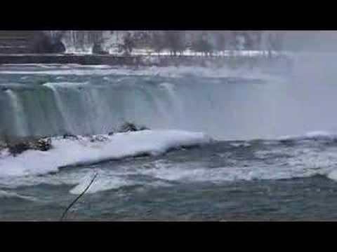 Canadian Horseshoe Niagara Falls from Goat Island