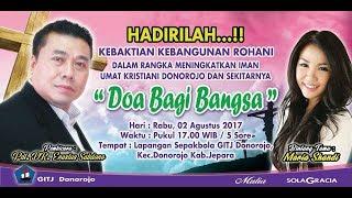 """KKR Pdt.Dr.Erastus Sabdono """"Doa Bagi Bangsa"""" Bintang Tamu Maria Shandi - Hastina Shooting"""