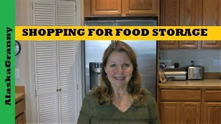 Long Term Food Storage Shopping Tips