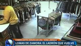 Comerciantes de Lomas de Zamora denuncian zona liberada -Telefe Noticias