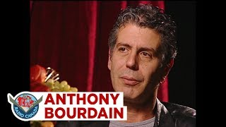 Anthony Bourdain on why food tastes bland, 2002