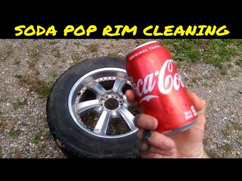 Hooked On Coke And Aluminum Foil | How To Clean Your Rims The Soda Way