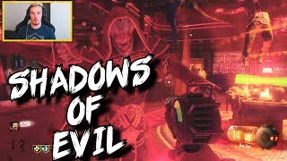 Black Ops 3 Zombies: 'Shadows Of Evil' First Live Attempt! thumbnail