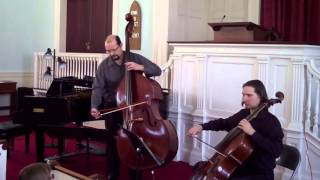 Jean Barriere - Sonata No.10 for Cello and Bass