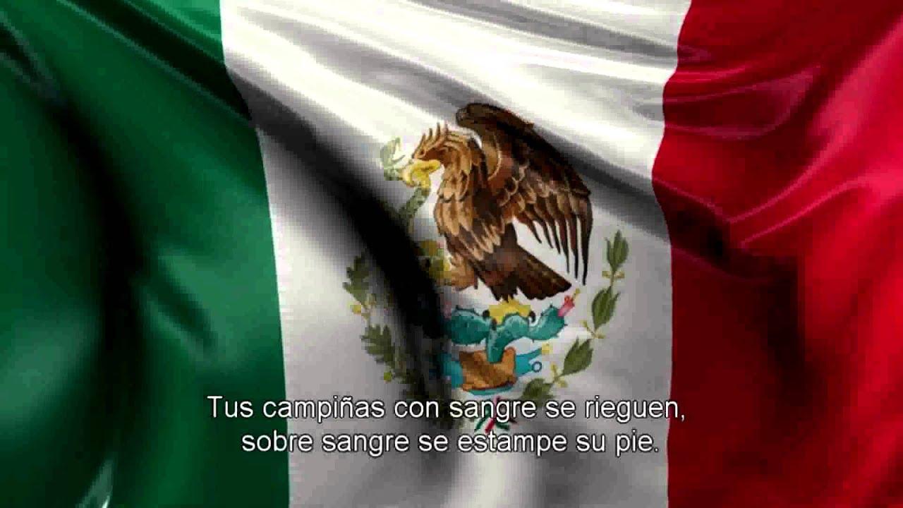 Himno Nacional Mexicano Completo Coros Y Letra YouTube