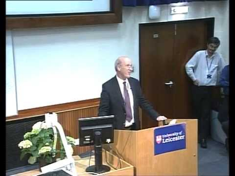 Professor Stewart Petersen's final lecture