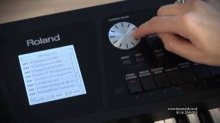 Roland BK5 Arranger Keyboard Demo