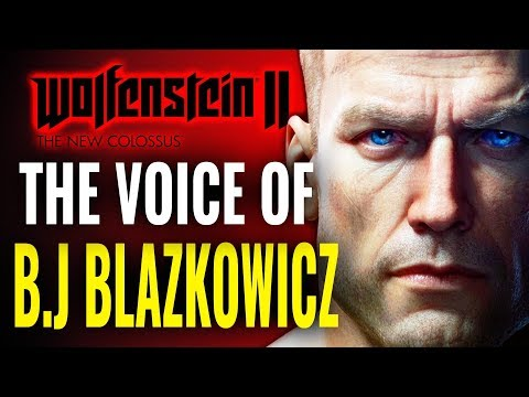 Why B.J. Blazkowicz from Wolfenstein 2 Sounds so Familiar