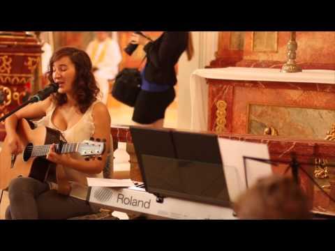 Liebe meines Lebens - Philipp Poisel Cover von Eva Croissant live in der Kirche bei einer Hochzeit