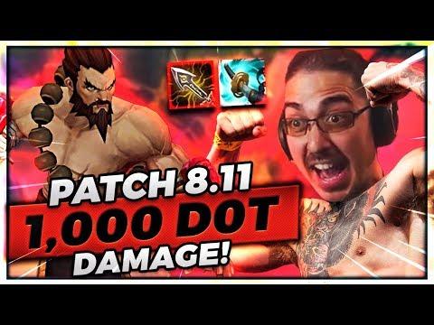 PATCH 8.11 STORM RAZOR DYR - 1,000 DOT DAMAGE!!