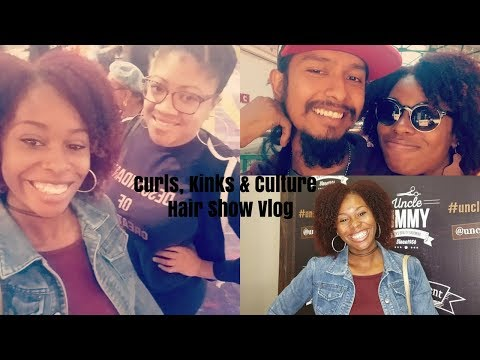 Curls, Kinks & Culture hair event vlog| interracial family| biracial family