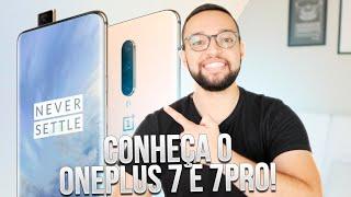 Conheça o OnePlus 7 e 7 Pro! (tela de 90Hz, câmera retrátil e snapdragon 855)