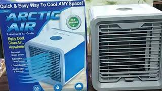 Final Review of Arctic Mini Air Cooler (Hindi) (Live Video)