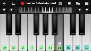 Tujhe Dekha To Yeh Jana Sanam Mobile Piano Tutorial | Jarzee Entertainment