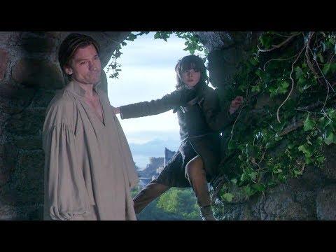 GoT - Jaime Pushes Bran Down (Game Of Thrones S01E01)