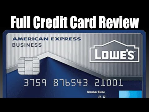 Credit Card Review: American Express Lowe's Business Credit Card