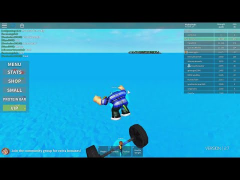Becoming a big boy and finding a bug | Roblox | Weight Lifting Simulator 2 #2